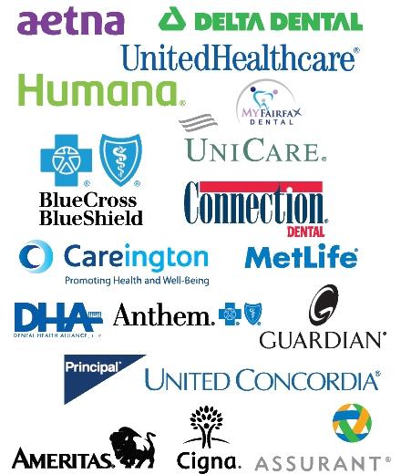 Fairfax, VA Dental Office accepts all insurances